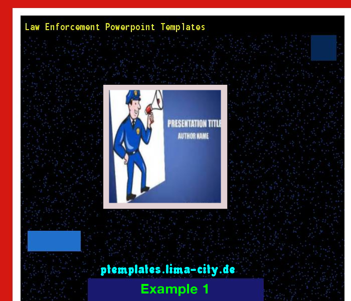 Law enforcement powerpoint templates. Powerpoint Templates 134957 ...