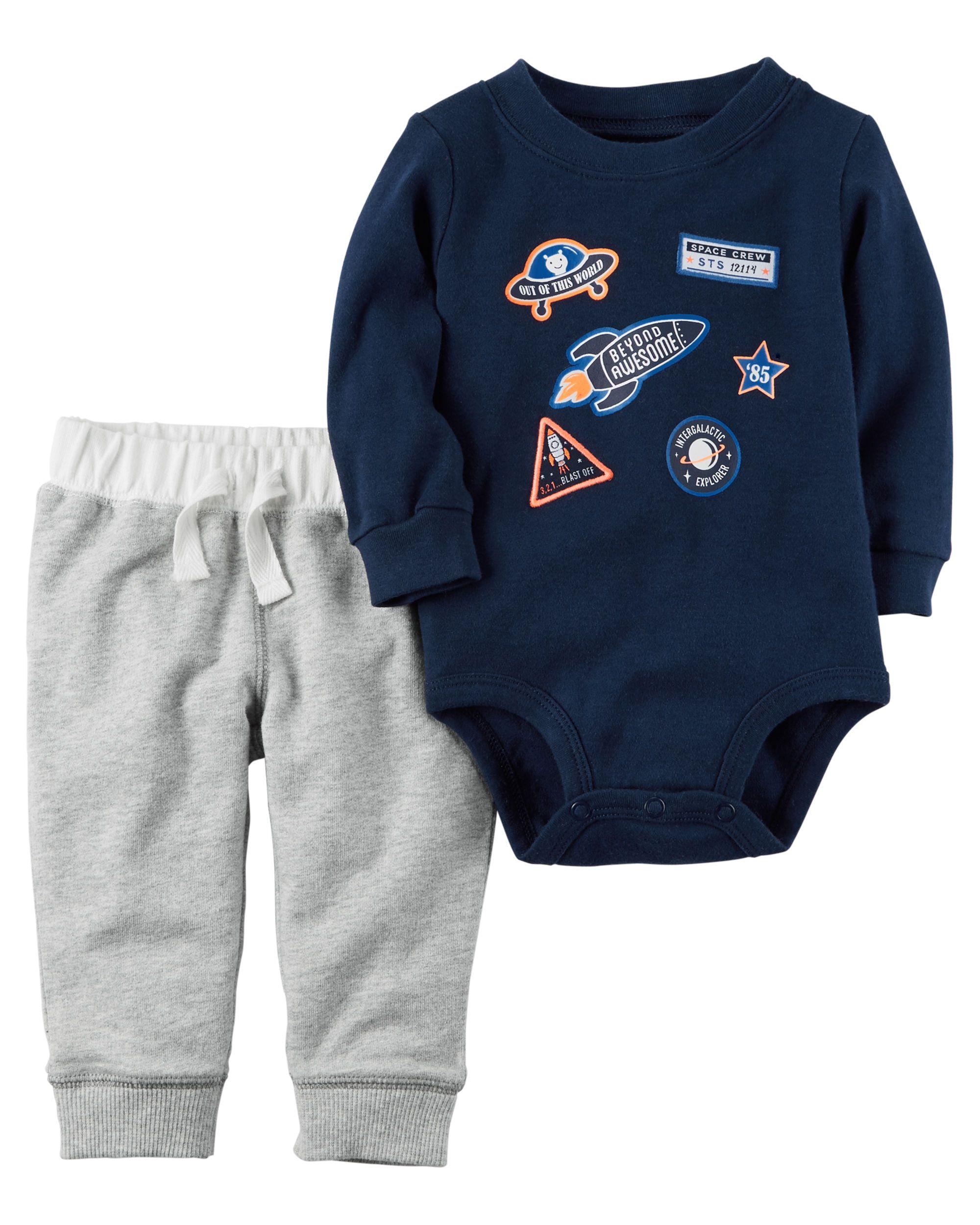 2 Piece Bodysuit Pant Set