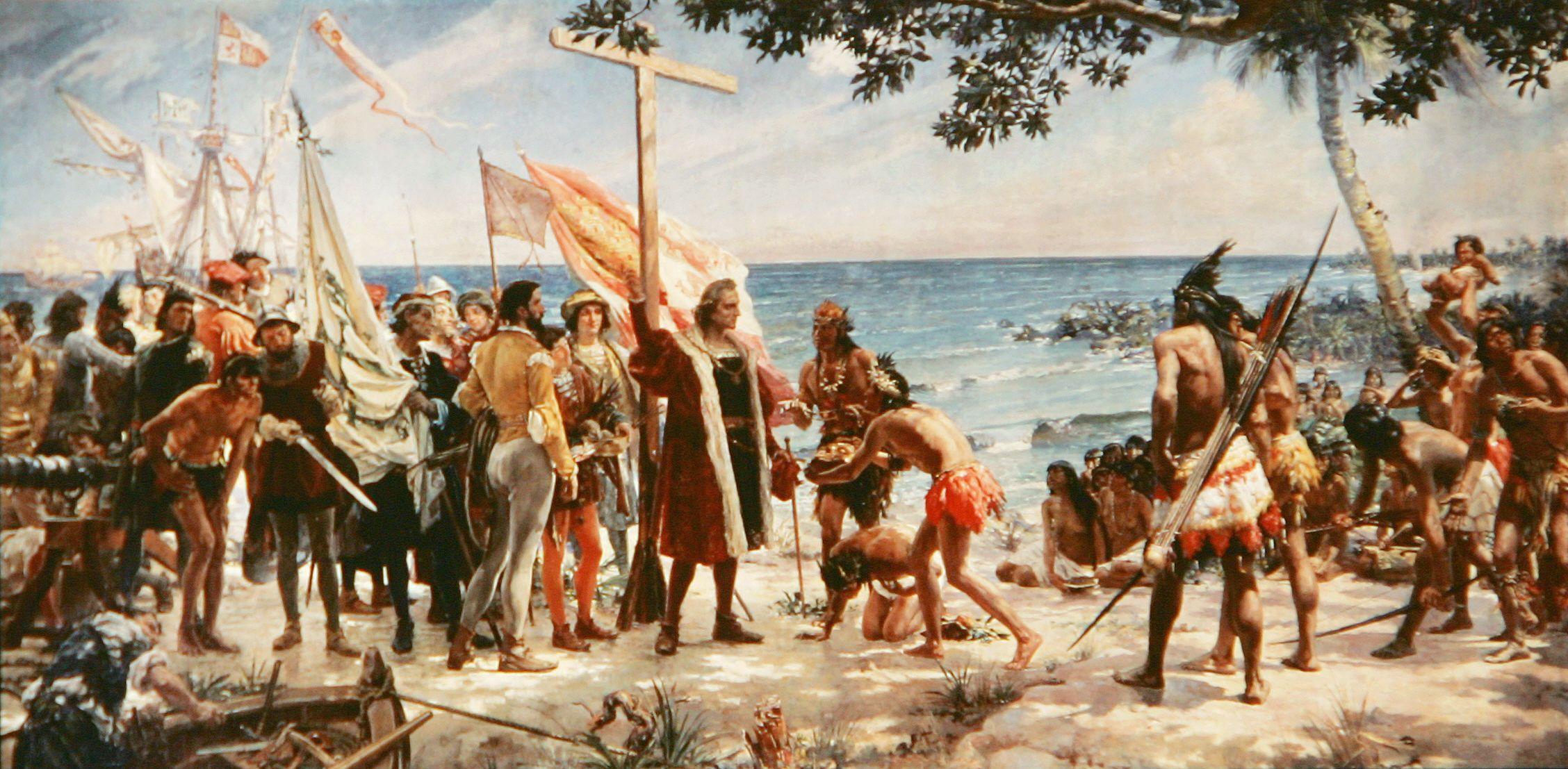 Un Dia Como Hoy 27 De Octubre En 1492 Cristobal Colon Descubrio La Isla De Cuba Afirmo Esta Es La Tier Indigenous Peoples Day Christopher Columbus Columbus