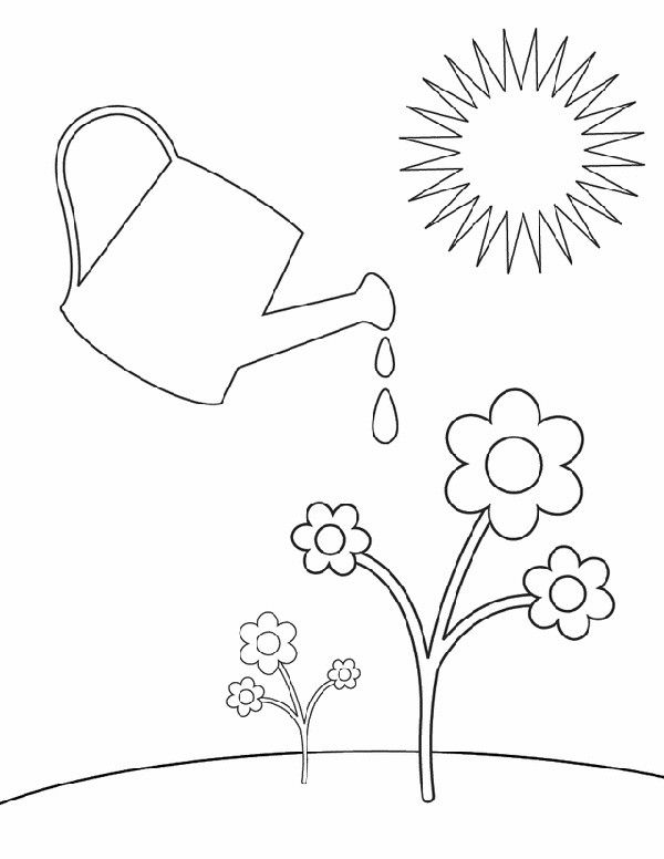 29 Springtime Coloring Sheets for the Kids to Scribble Their Hearts ...