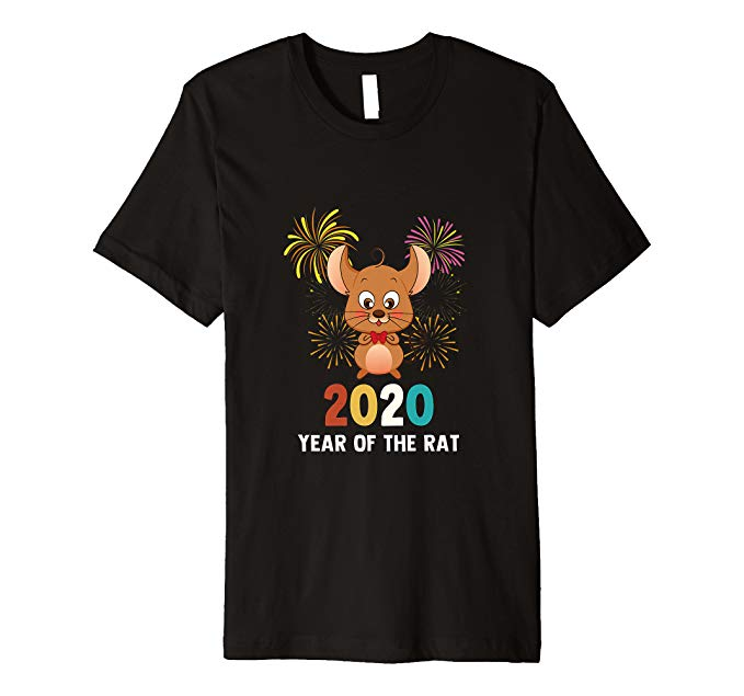 2020 Year of The Rat Chinese Zodiac Happy New