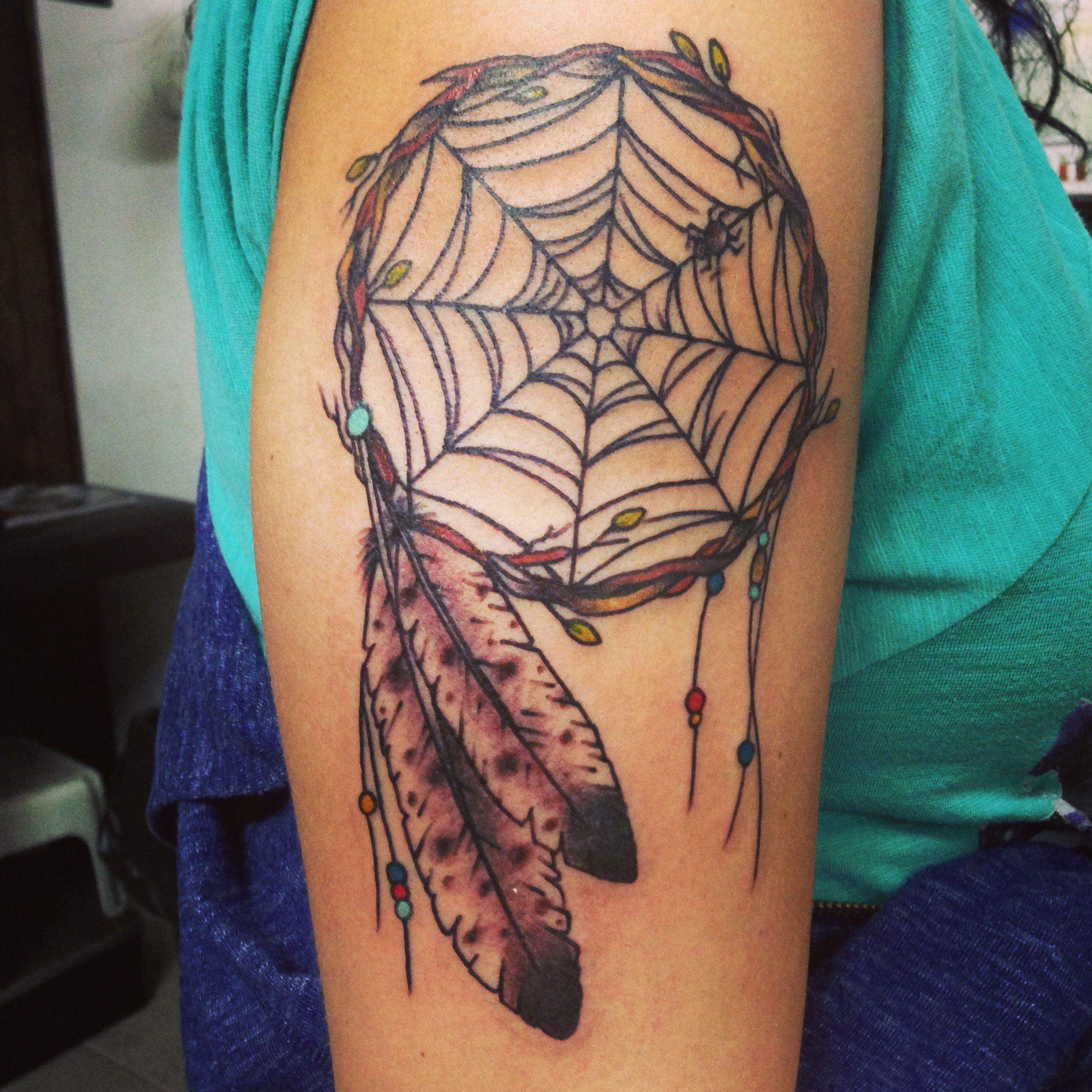 Dream Catcher Tattoo: Dreamcatcher Tattoo On My Arm.