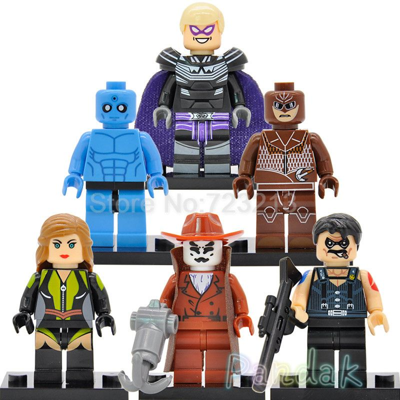 Watchmen DC Comics Block Minifigure NITE OWL **NEW** Custom Printed