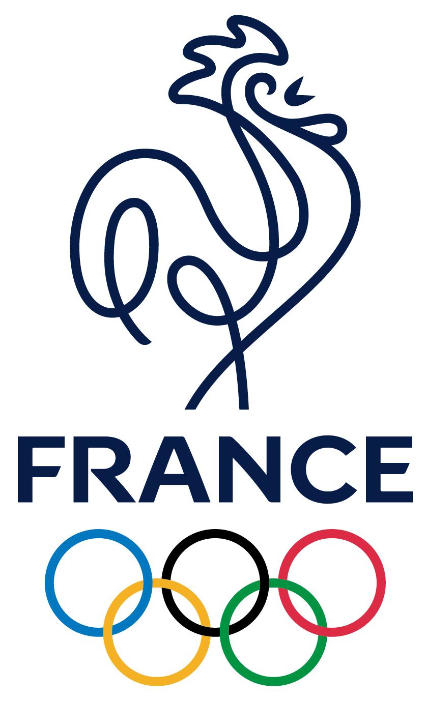 new logo for comit national olympique et sportif fran ais by leroy tremblot branding. Black Bedroom Furniture Sets. Home Design Ideas