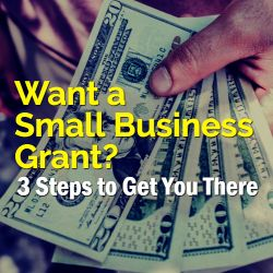 Want to see how you can get a small business grant and where you should look to apply for them Here are three steps to help you do just that