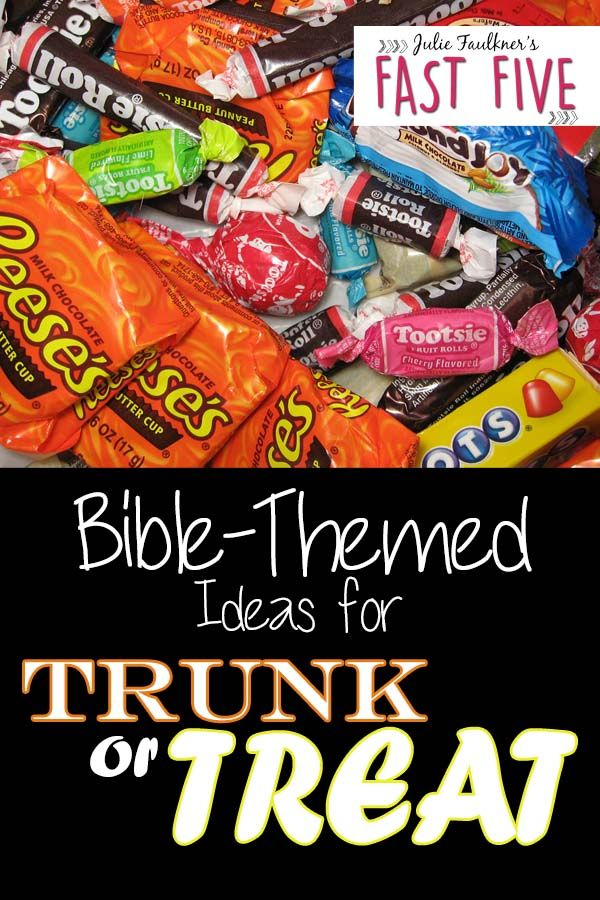 Trunk or Treat Ideas for Church with Bible Themes ...