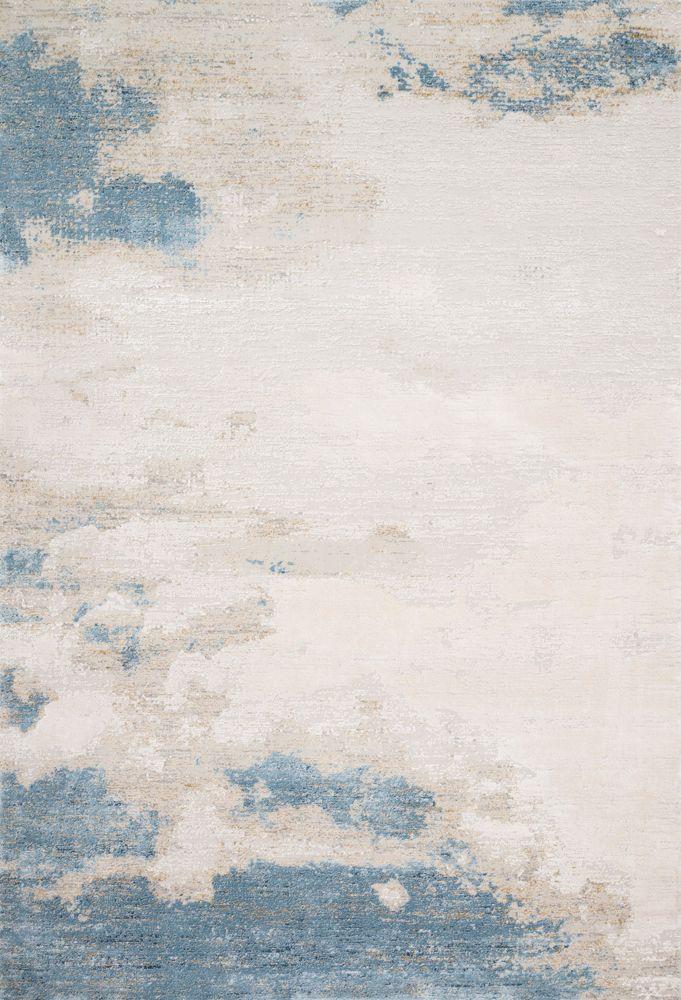 Sienne, Sand/Ocean, 5' x 8' - Spruce Up: Search - rugs, blue, minimalist