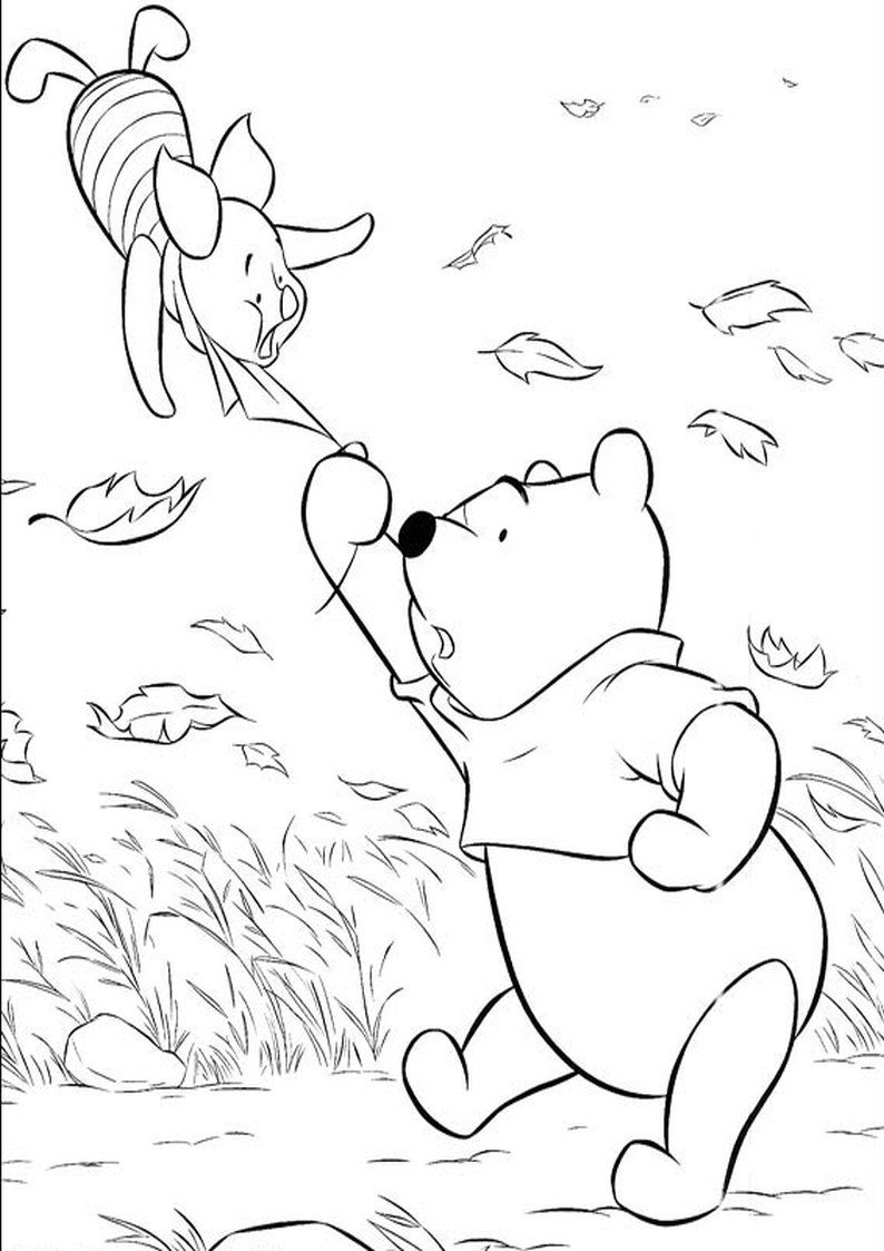 Kolorowanka Kubus Puchatek I Prosiaczek Malowanka Do Wydruku Nr 51 In 2020 Coloring Pages Drawings Line Art