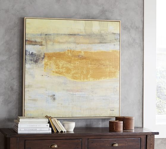 Option for breakfast room. The Great Divide Framed Canvas | Pottery ...