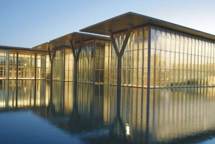 Modern Art Museum Fort Worth Ando Architecture Tadao Pinned By Modlar