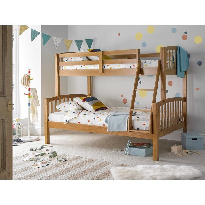 Aaliyah Standard Bunk Bed Has A Very Sturdy Safe And Solid Design Suitable For Children And Adults It Has Bunk Beds Modern Bunk Beds Triple Sleeper Bunk Bed