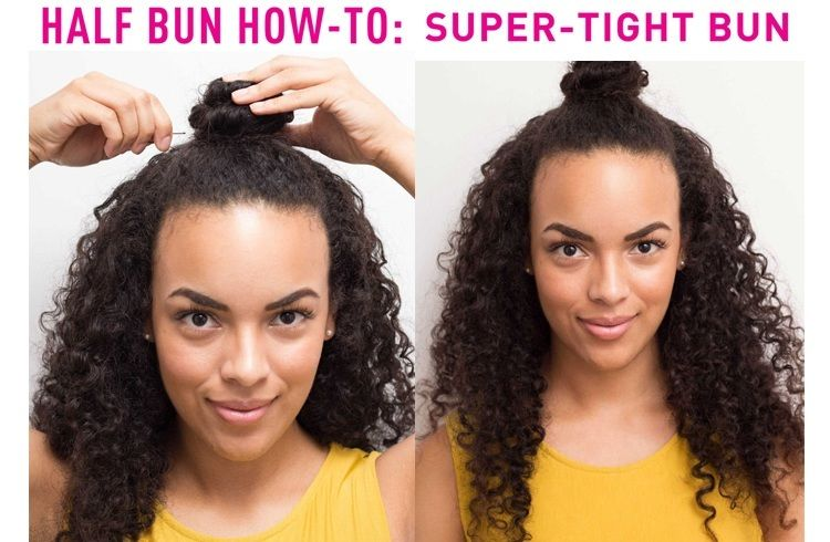 Bun Hairstyles For Curly Hair : Different bun hairstyles you need to know discover more ideas