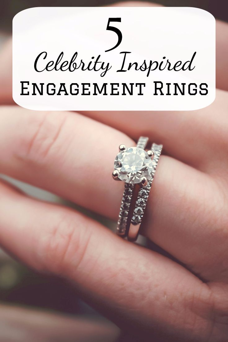 5 Celebrity Inspired Engagement Rings | Celebrity, Ring and Etsy