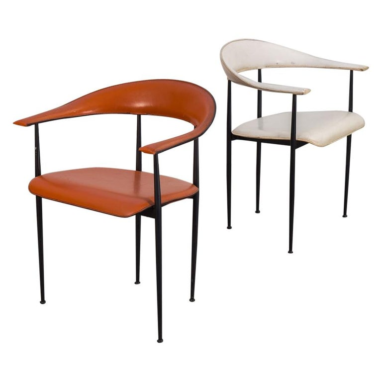 Pair Of Fasem International Dining Room Chairs P40