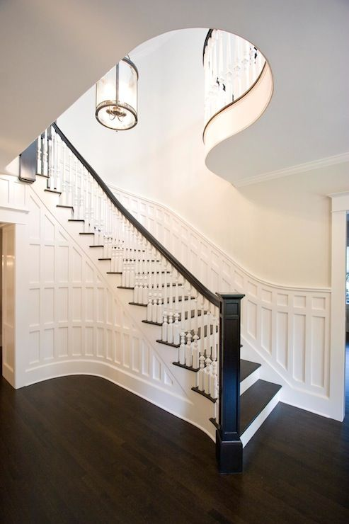 Clawson architects   entrances/foyers   grand staircase, formal ...
