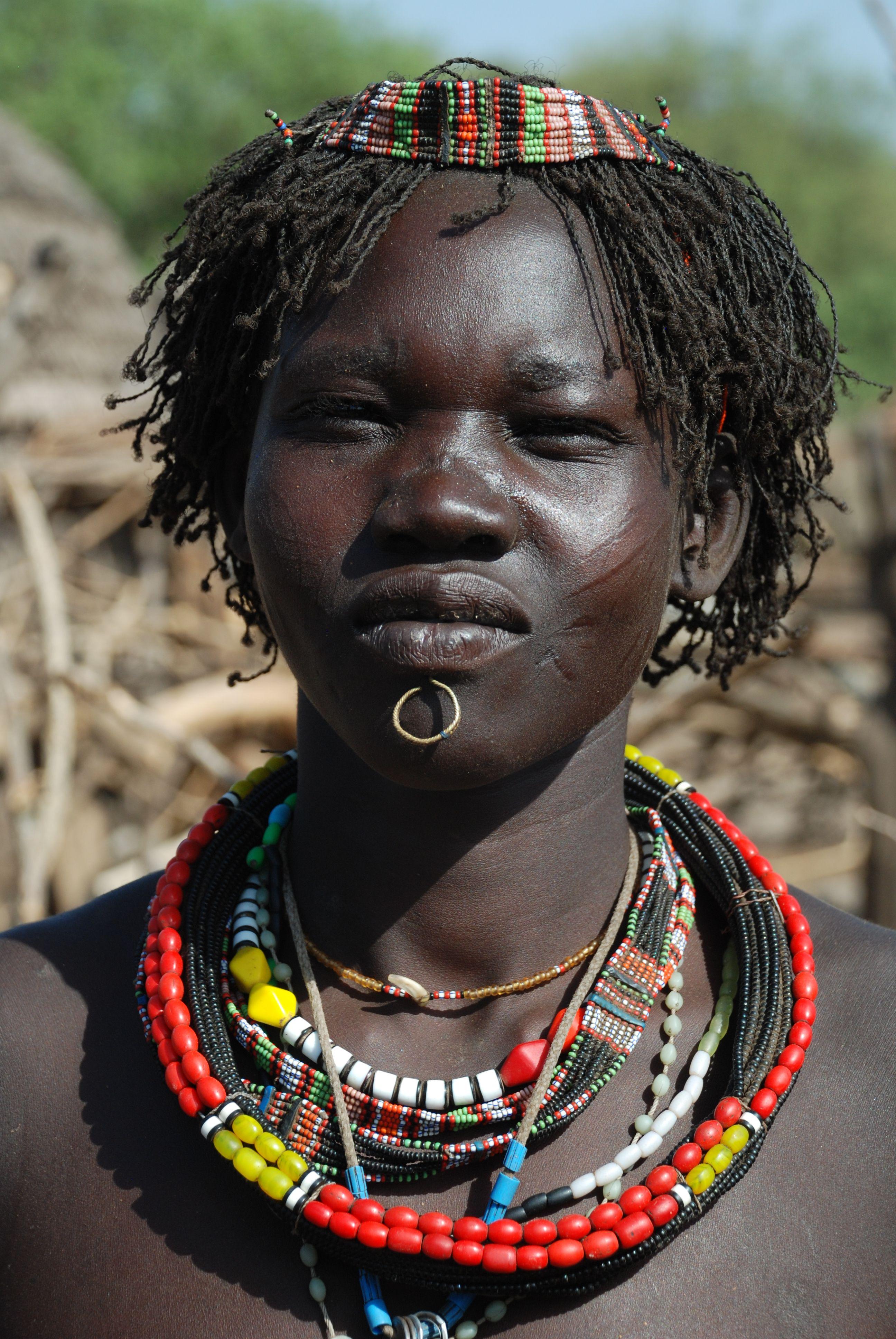 Toposa woman, Kapoeta, South Sudan Faces of Africa
