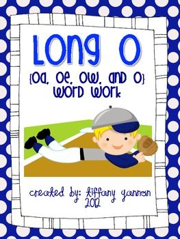 Vowel Phonics Patterns Picture and Word Sorts (Long O - o, oe, oa ...
