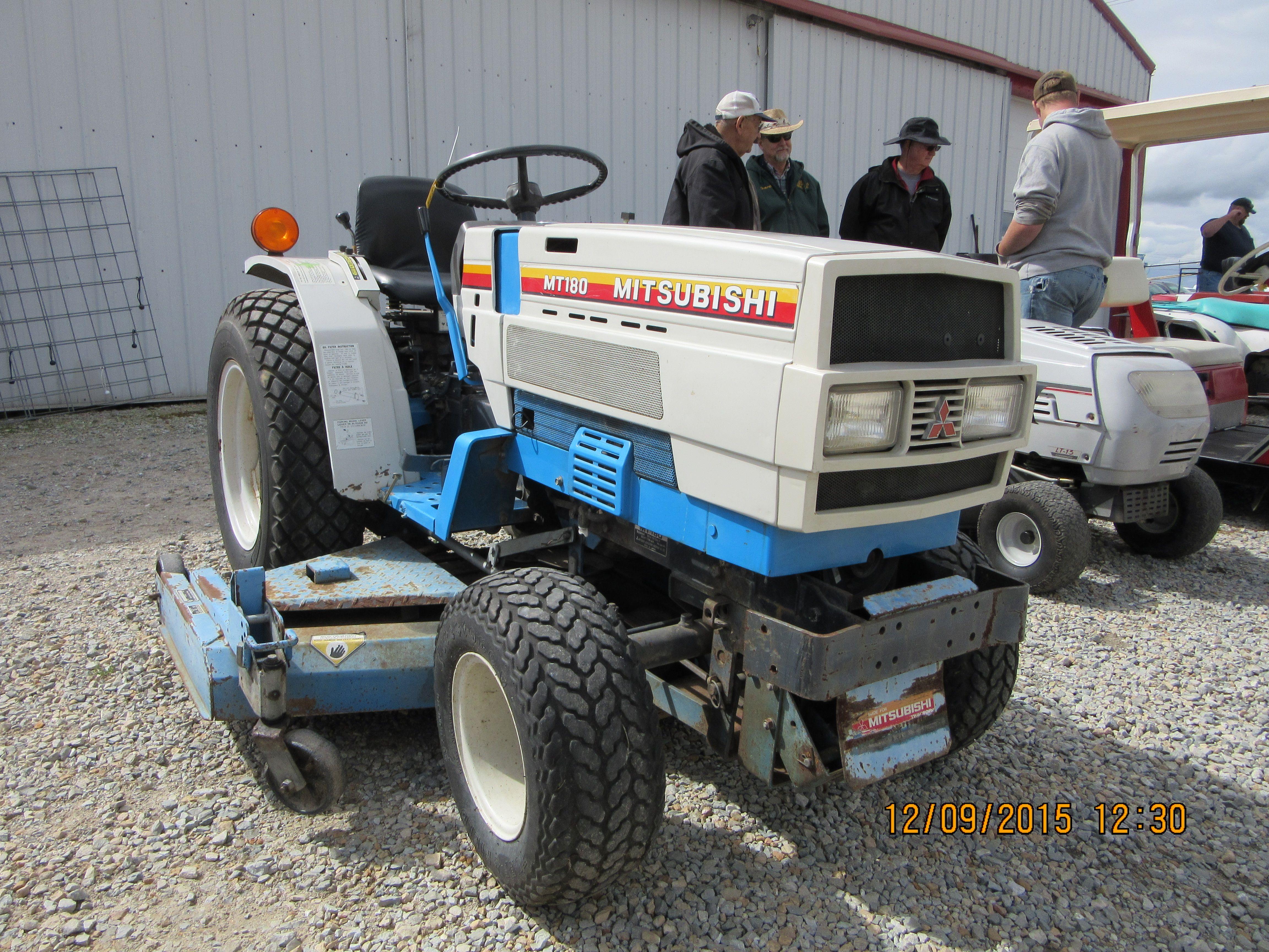 Rare Mitsubishi Mt186 Old Tractors Tractor Pictures Tractors