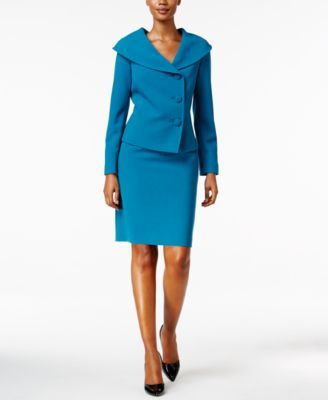 Size-10 Tahari ASL Portrait Collar Sheath Dress