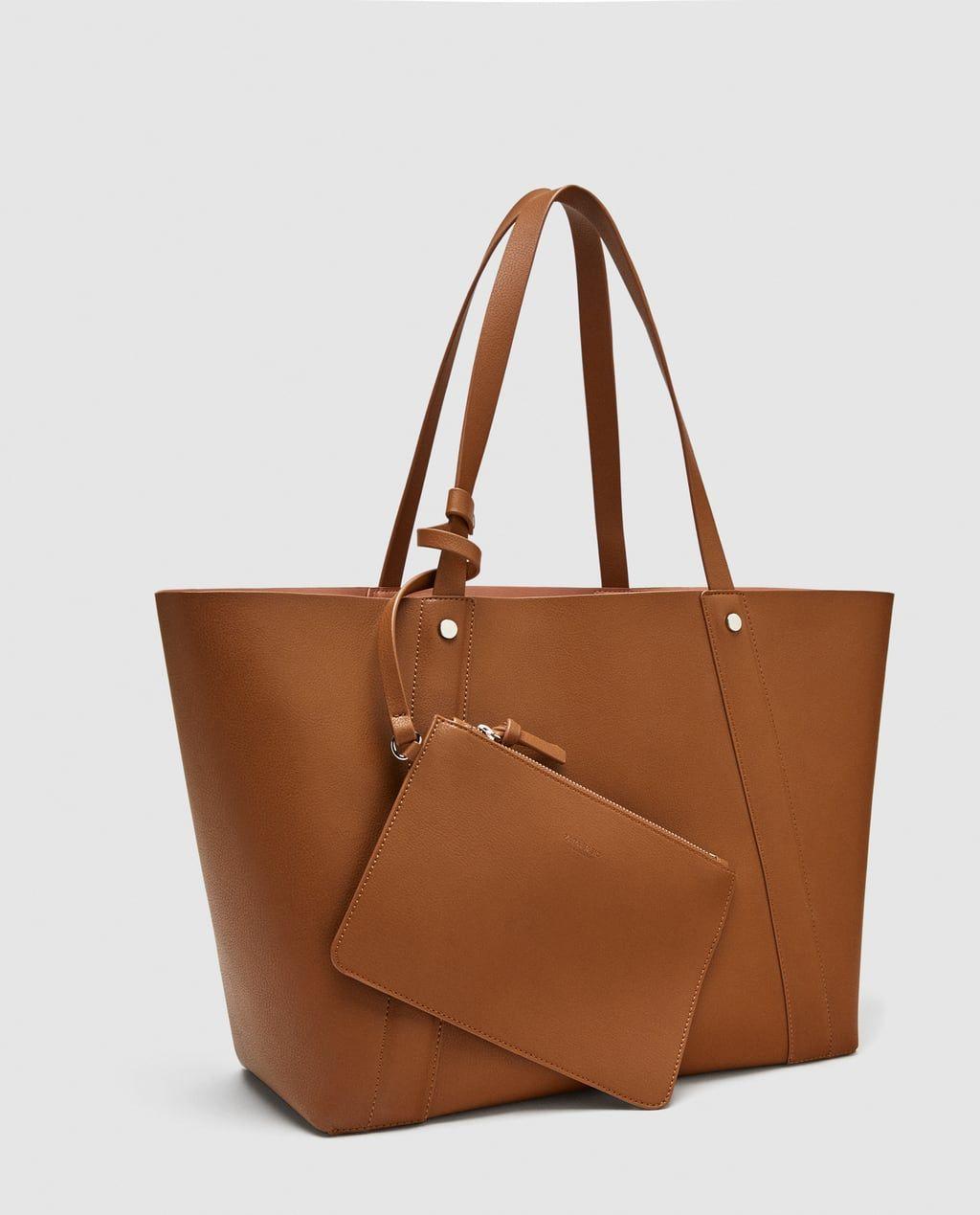 Shopper Reversible Taschen Zara Tasche Damenhandtaschen