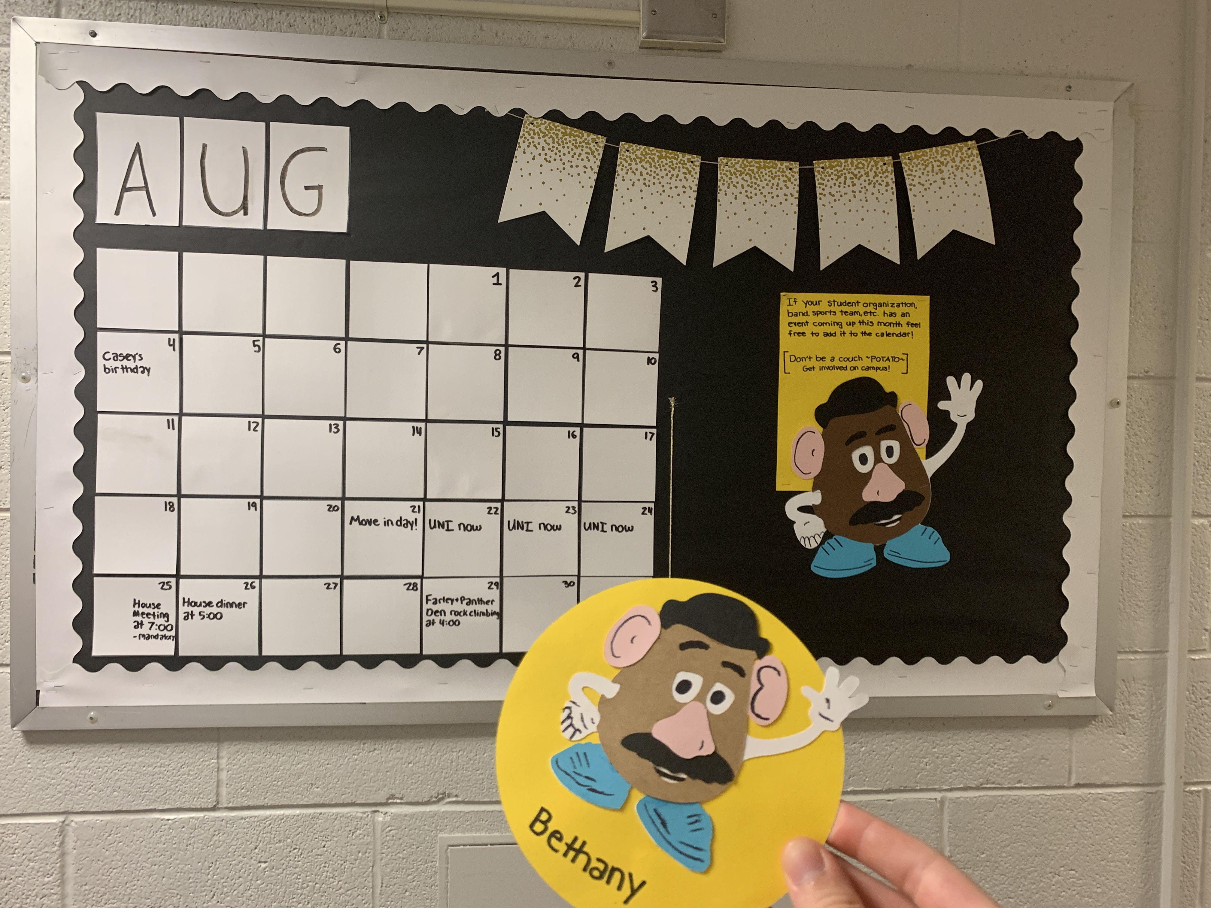 Toystory Residentassistant Bulletinboards Ra Ideas Calendar