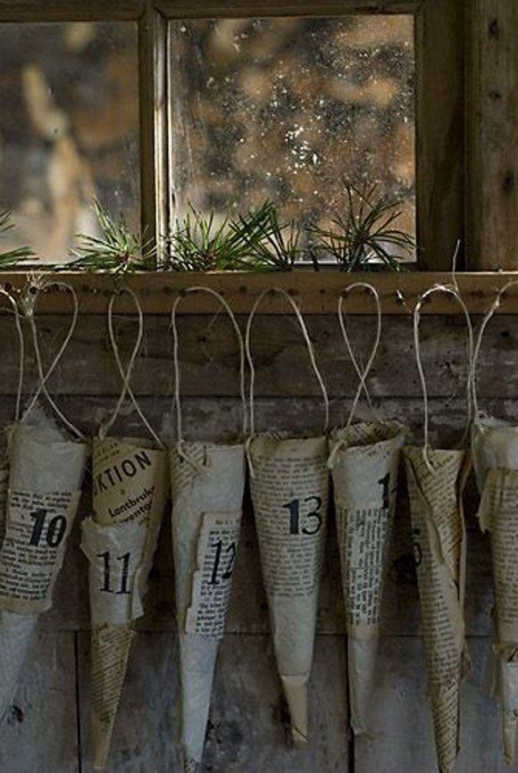 18 Unique Ideas & Tutorials for DIY Advent Calendars