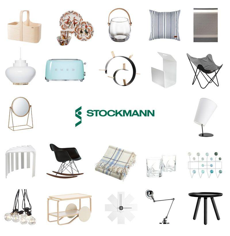 Sisustusta kotiin Stockmannilta