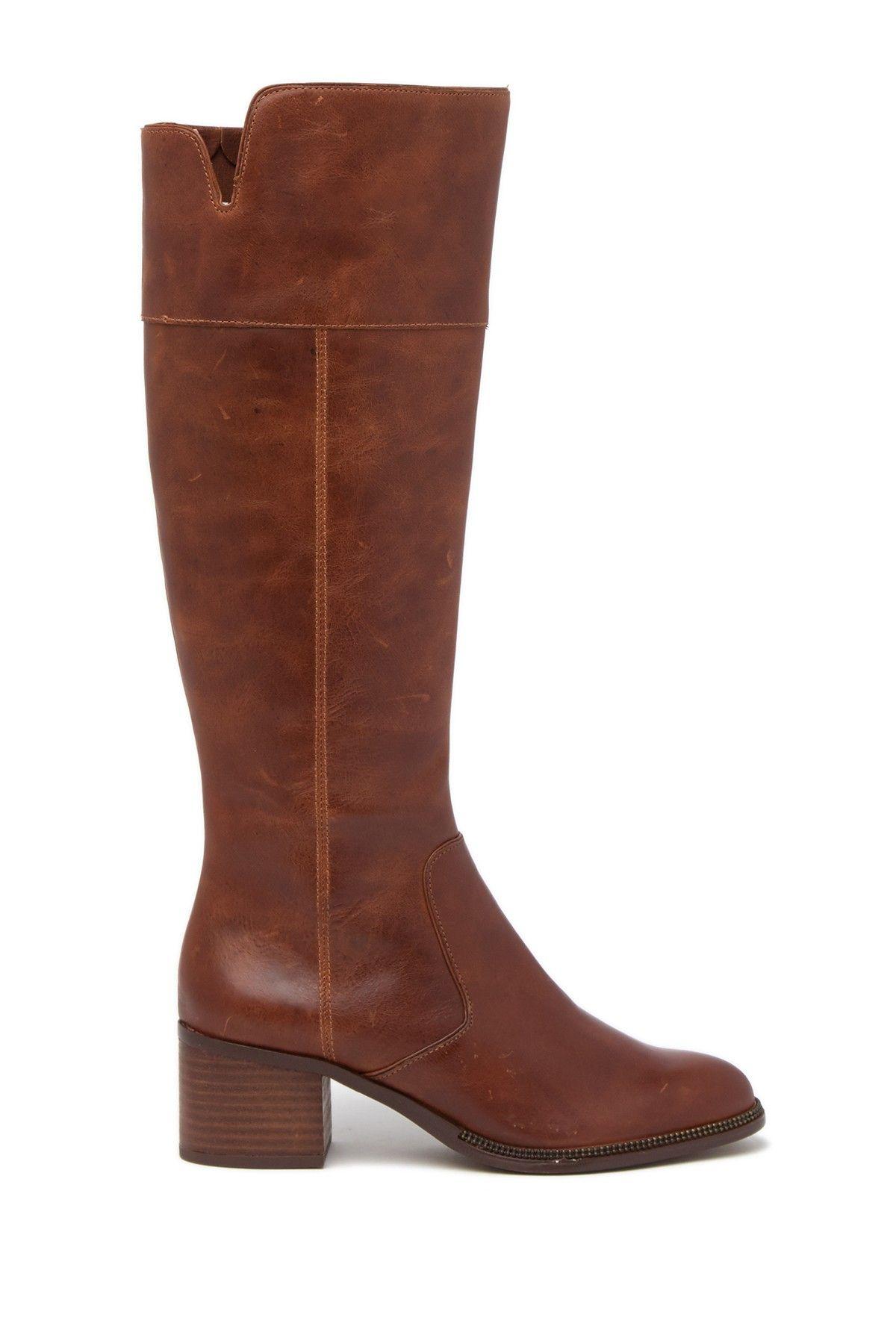 Franco Sarto | Luciana Block Heel Tall Boot #nordstromrack