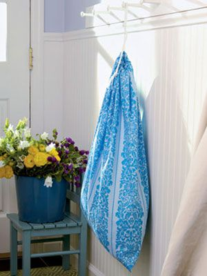 Make Your Own Fabric Laundry Bag