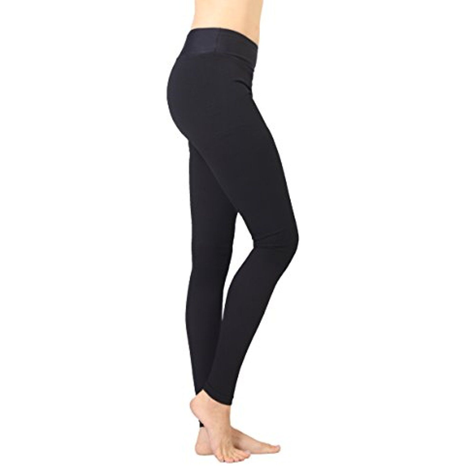 c6e5a38e4550d Terramed Sport Firm Footless Graduated Compression Microfiber Opaque  Leggings (20-30 mmHg)with Control Top (Large) * You can get additional  details at the ...
