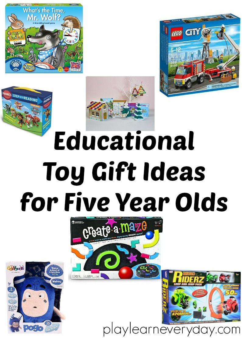 Educational Toy Gift Ideas for 5 Year Olds | Bloggers Friends Best ...