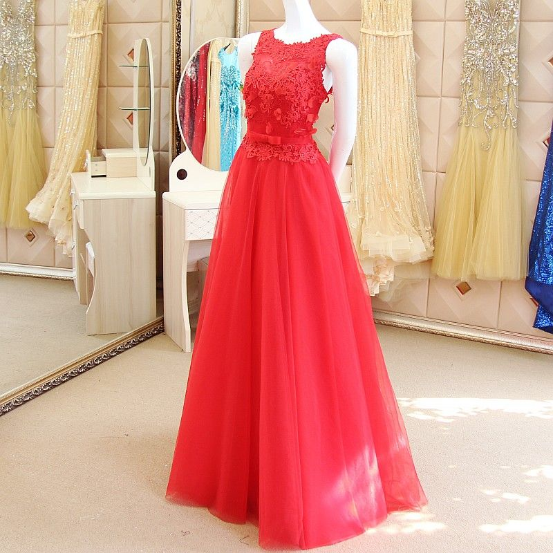 Find More Evening Dresses Information about WB300 Long Evening Dress ...