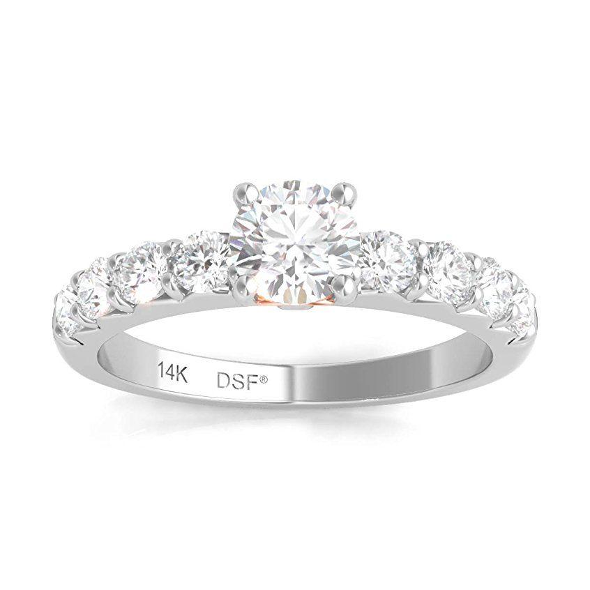 Diamond Studs Forever Solitaire Verlobungsring 1 00 Ct