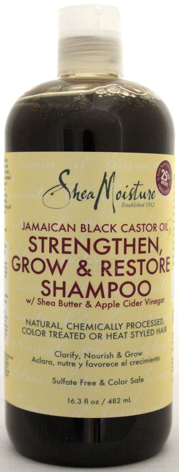 Shea moisture jamaican black castor oil shampoo apple cider vinegar