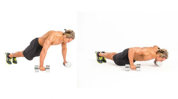 The 4-Week Dumbbell Workout Plan Part 1 Chest And Back Fitness The 4-Week Dumbbell Workout Plan Part...
