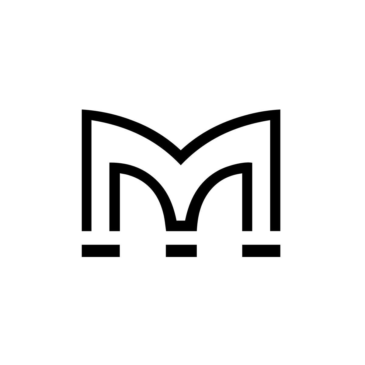 Martin Audio Logo United Kingdom Letter M Logo Single Letter Logo Letter Logo