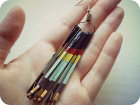 the Metric Child: DIY// bobby pin earrings