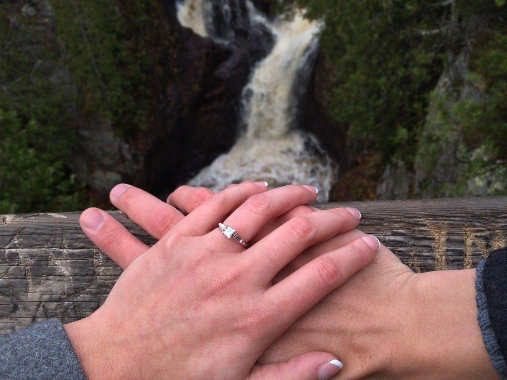 Lovely Lake Superior Proposal of The Matter Wedding   Lake superior ...