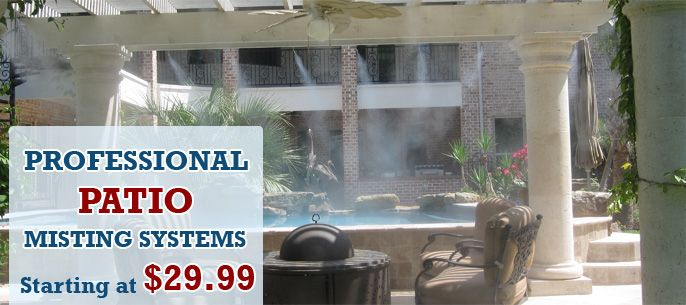 Misting Systems Outdoor Cooling Mist Cooling System Houston Texas Us Patio Misting System Mists Misting