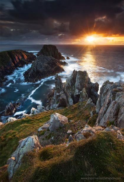 Irlands schönste Route: Den Wild Atlantic Way entlang - Kaplan #scenery