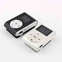 MP3 LCD displej Hudobný prehrávač Mini rekordér Slim MP3 prehrávač Podpora Micro TF Card Slot 2/4 / 8/16 / 32GB (Čína (pevninská časť))