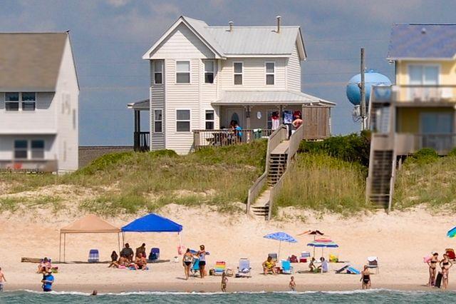 204 S Shore Drive 8 Bedrooms Oceanfront Hot Tub Next