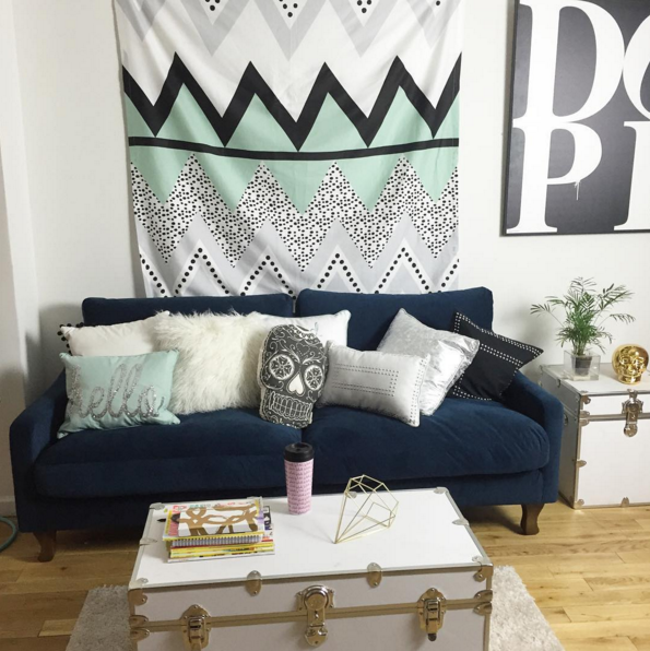 Update Your Common Areas With Dormify Pillows And Accessories
