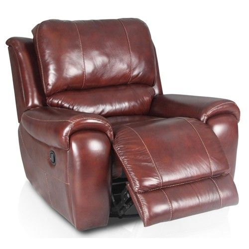 Salazar Casual Power Recliner With Lumbar Support By
