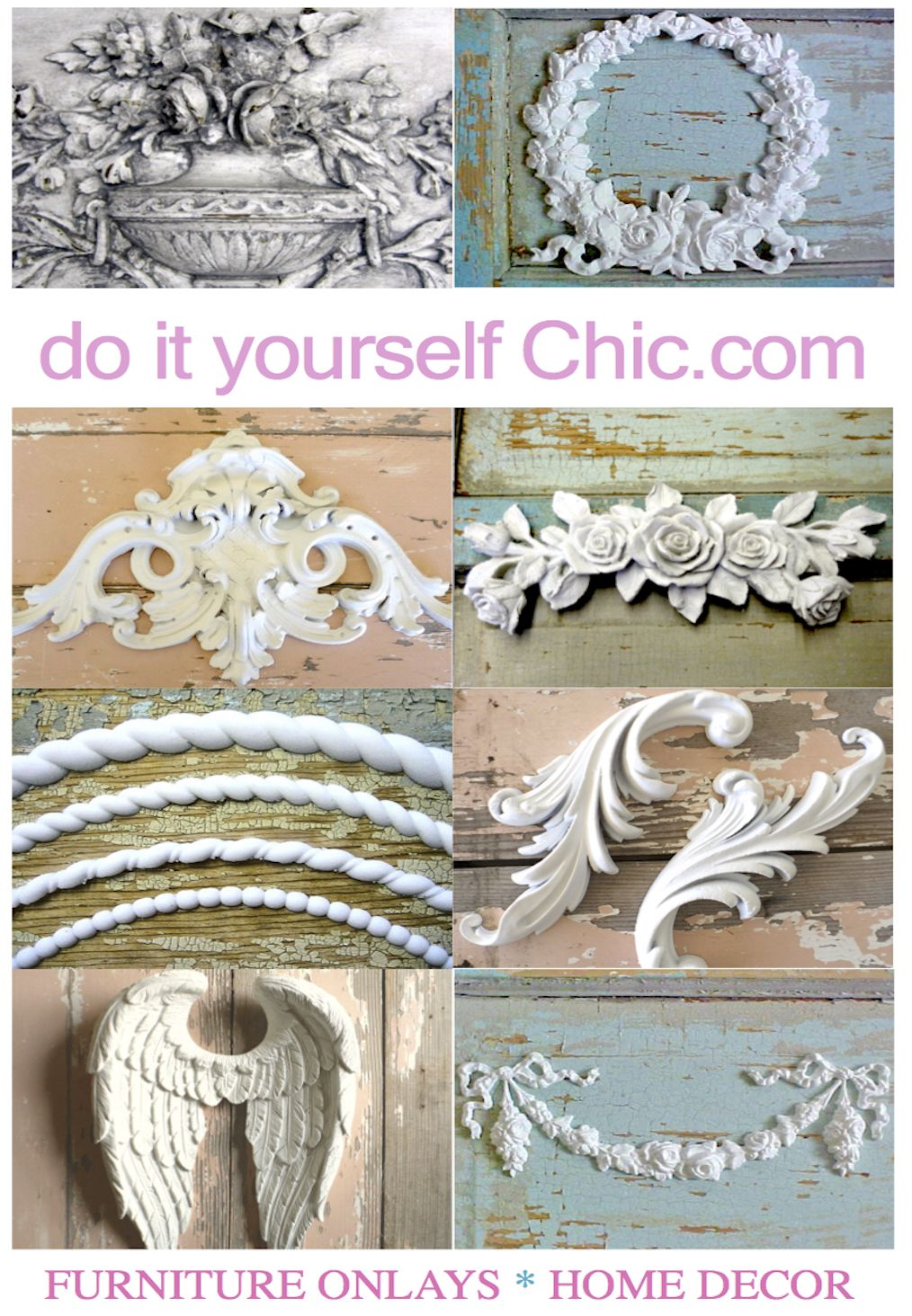 Our New 2016 Ad Over 500 Applique Designs Shabby Chic Furniture