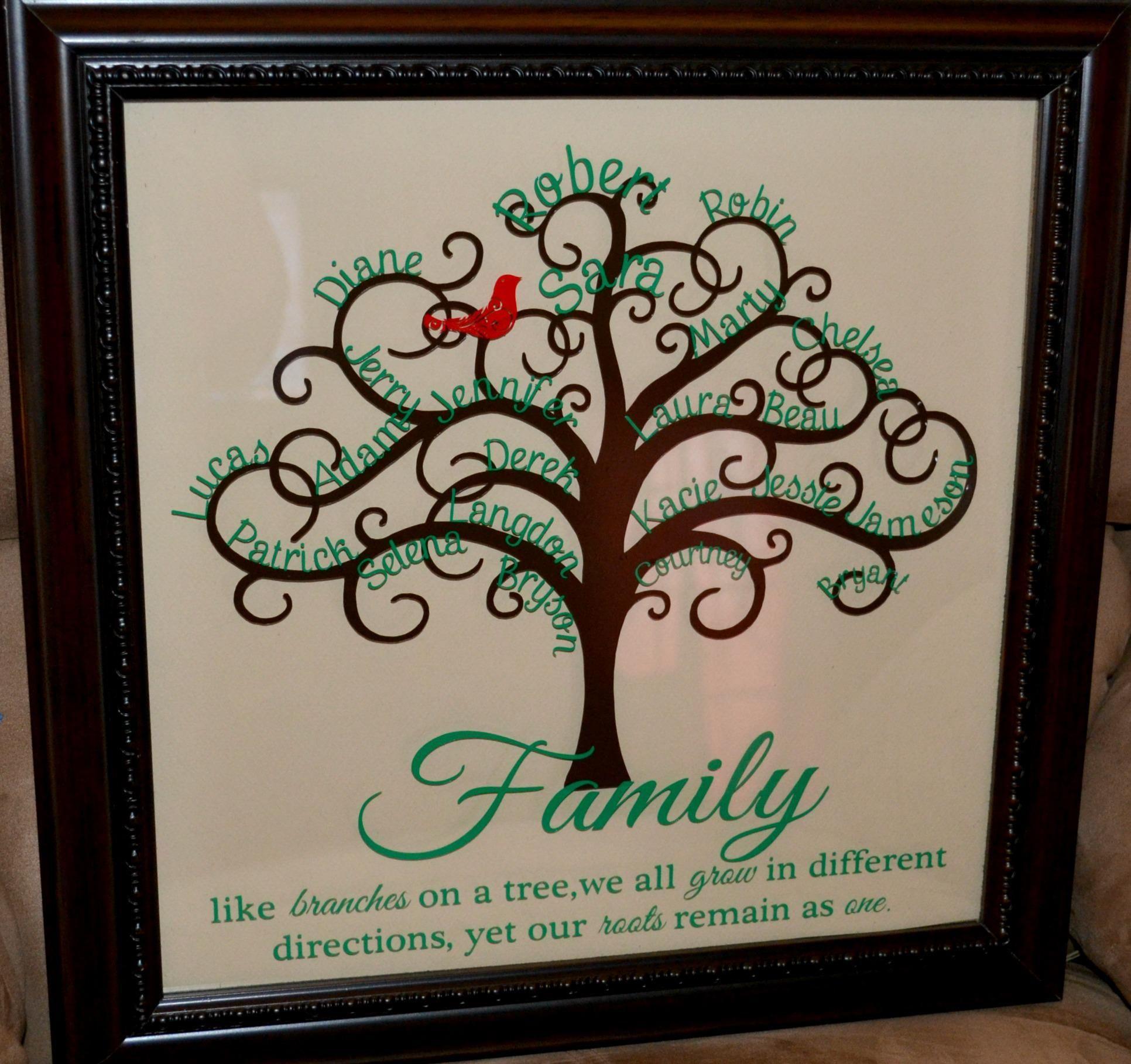 family tree … Family tree project, Family tree art
