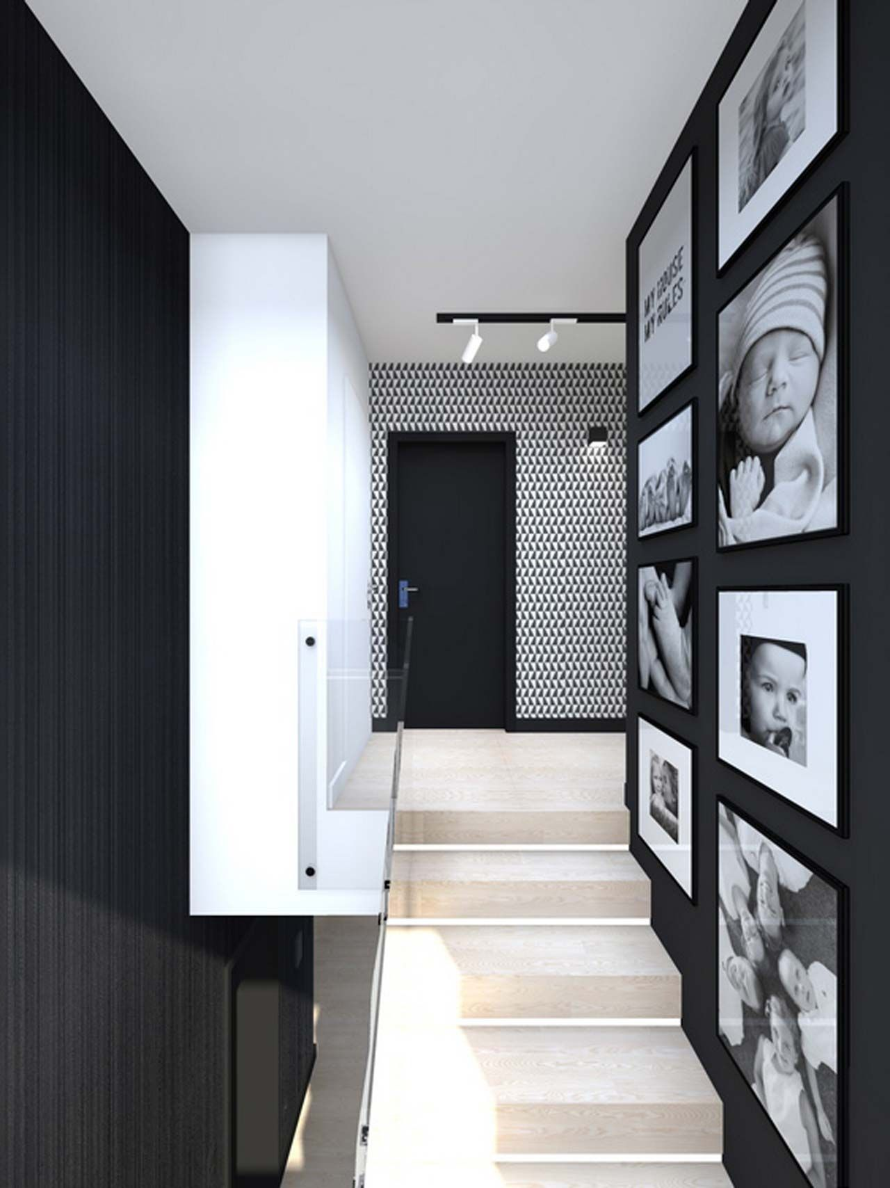Best Interior Home Design Wall Design ~ http://www.lookmyhomes.com/awesome-home-interior-design-ideas-32-photos-by-tarnowskie-gory/