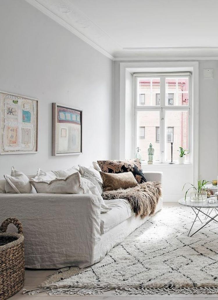 95 Comfy And Elegant Scandinavian Living Room Decor Ideas Living Room Scandinavian Couches Living Room Beige Living Rooms