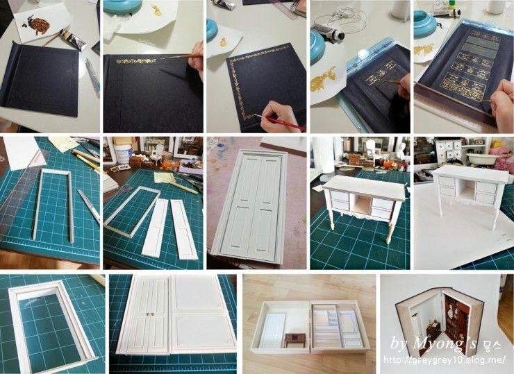 diorama miniaturen pinterest miniatur m bel und k che. Black Bedroom Furniture Sets. Home Design Ideas