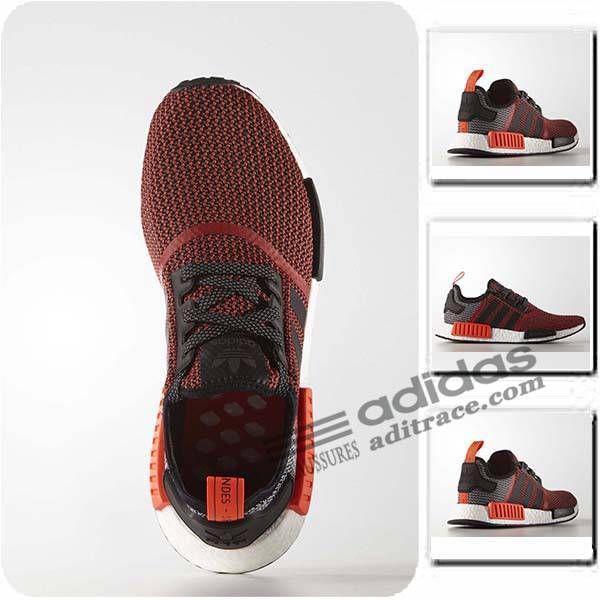 chaussures femme adidas rouge original